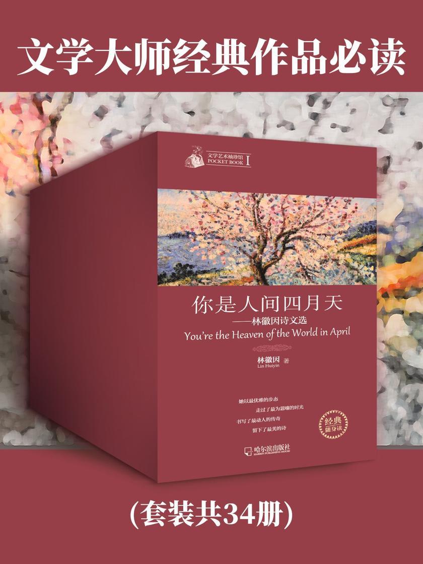 文学大师经典作品必读(套装共34册)
