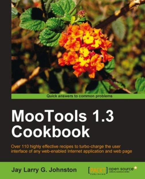 MooTools 1.3 Cookbook