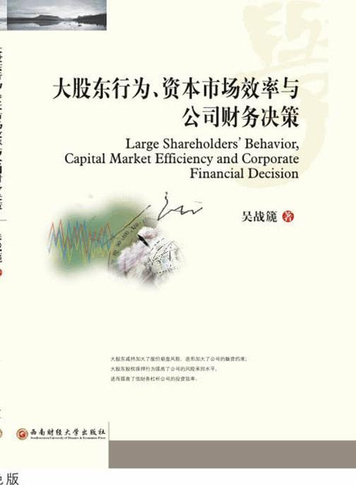 大股东行为、资本市场效率与公司财务决策