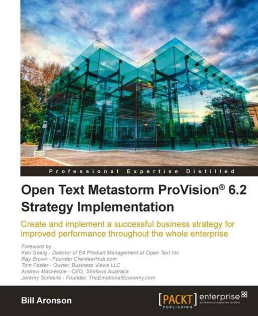 Open Text Metastorm ProVision? 6.2 Strategy Implementation