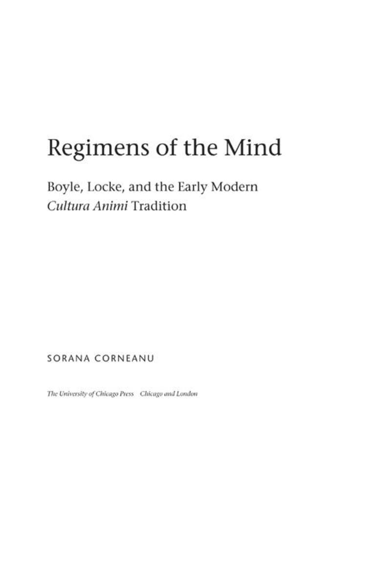 Regimens of the Mind