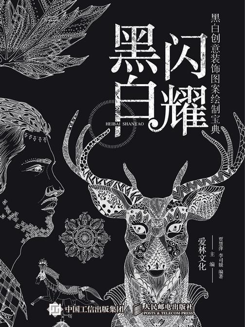 黑白闪耀——黑白创意装饰图案绘制宝典