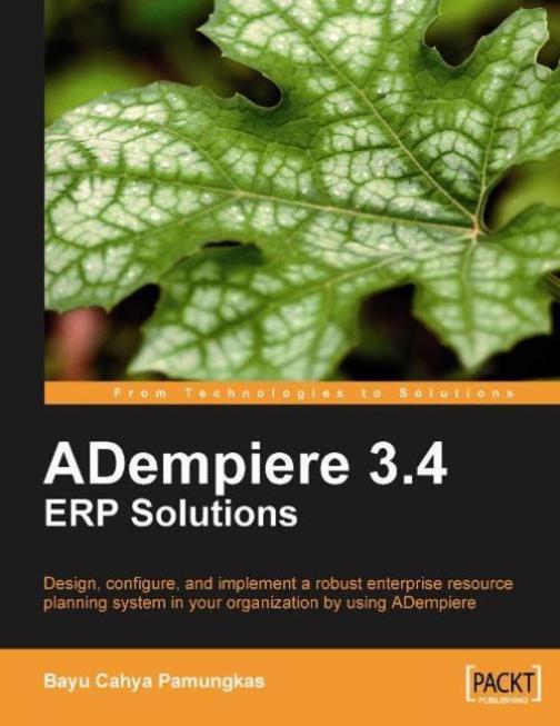 ADempiere 3.4 ERP Solutions