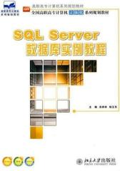 SQL Server数据库实例教程(仅适用PC阅读)