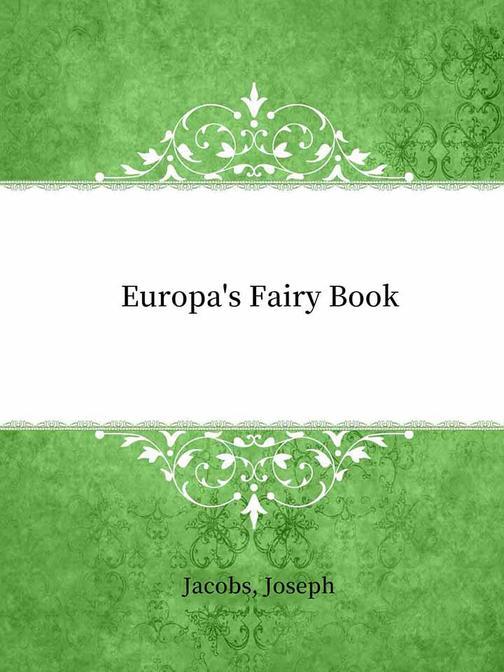 Europa's Fairy Book
